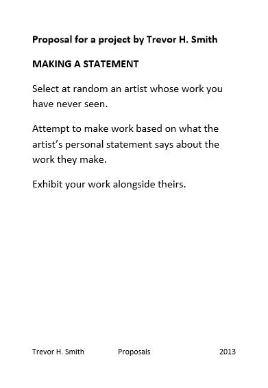016. 2013 Making a statement