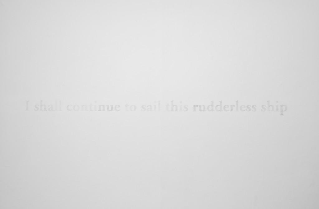 I shall continue
