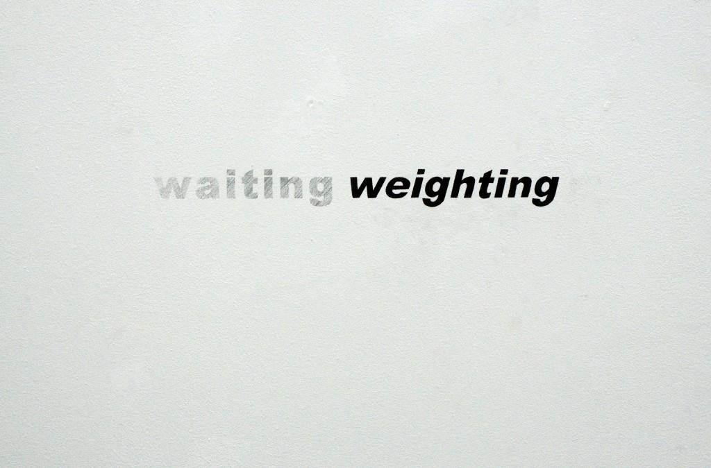 waitingweighting