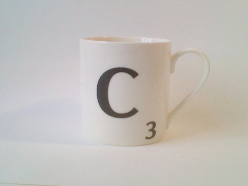 c is for cup
