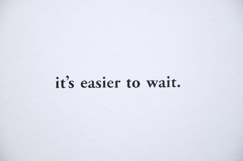 it's easier
